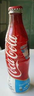 2 Botellas Coca Cola Edición Lim. Messi Copaamérica 2011
