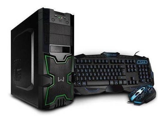 Pc Gamer Multilaser Warrior Intel Core I3 Dt007