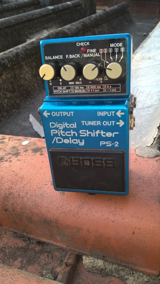Pedal Boss Digital Delay Pitch Shifter Ps-2 (japan)