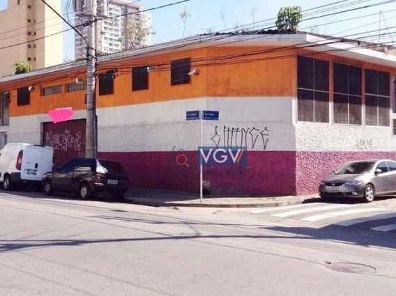 Galpão Para Alugar, 508 M² Por R$ 10.000,00/mês - Tatuapé - São Paulo/sp - Ga0245
