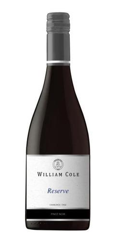 6 William Cole Reserve Pinot Noir  Ref. Retail $30.000