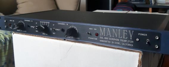 Manley Dual Mono Microfone Preamplifier - Baixou O Preço!!!