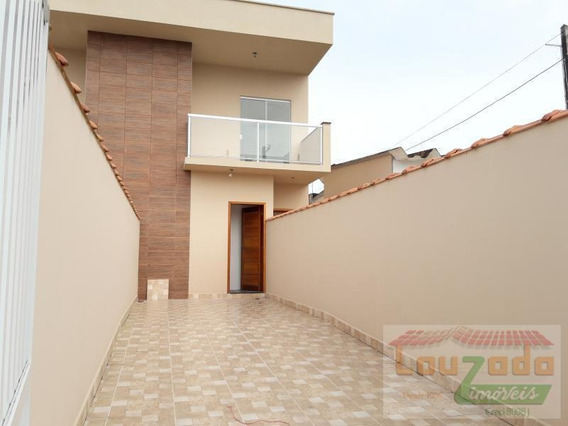 Casa Para Venda Em Peruíbe, Jardim Ribamar, 2 Dormitórios, 1 Suíte, 1 Banheiro, 2 Vagas - 2119