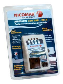 Protector De Voltaje 220v / 20a Airmatic Original