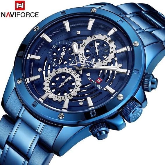 Relógio Naviforce Multi Funcional A Prova D