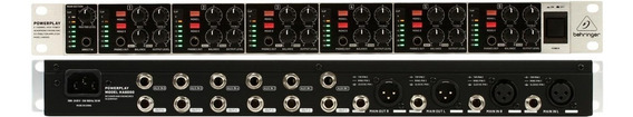 Amplificador Behringer Powerplay Ha6000 Para Fones De Ouvido