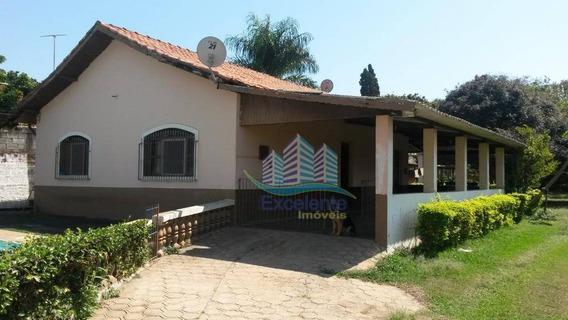 Chácara Com 2 Dormitórios Para Alugar, 1282 M² Por R$ 1.300,00/mês - Chácaras Acaray - Hortolândia/sp - Ch0040