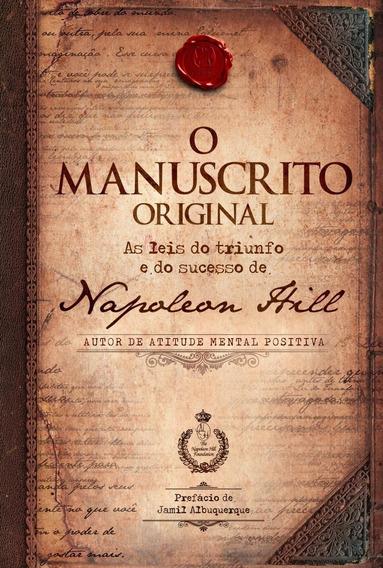 O Manuscrito Original - As Leis Do Triunfo E Do Sucesso De N