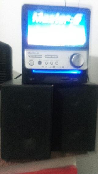 Equipo De Audio Con Pantalla Led Tv 10 Full Color.