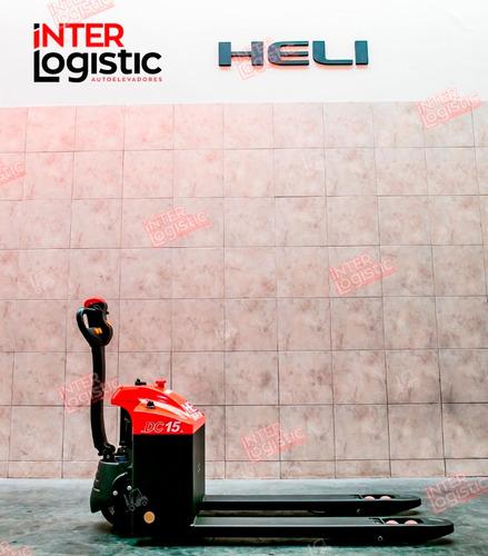 Carretilla Electrica Heli Interlogistic 1500 Kg Nuevo 0 Km