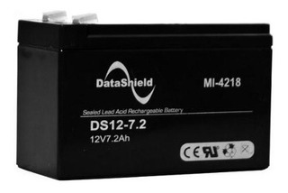 Bateria Para No Break Data Shield 12 V 7.2 Ah