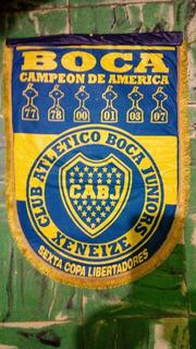 Banderin De Boca Año 2007 - Campeon De America