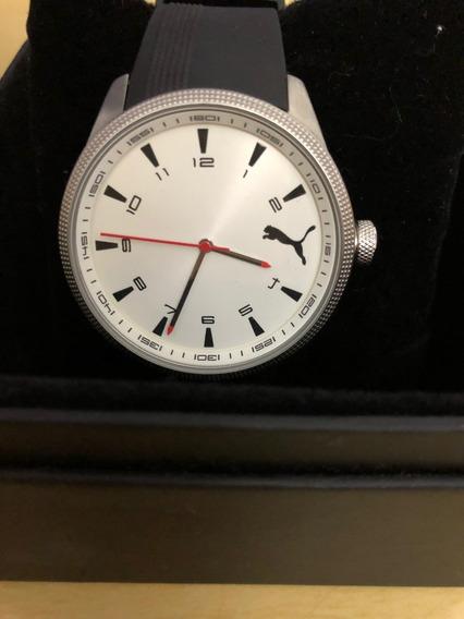 Relógio De Pulso Puma 96136 Preto Masculino 5atm Original