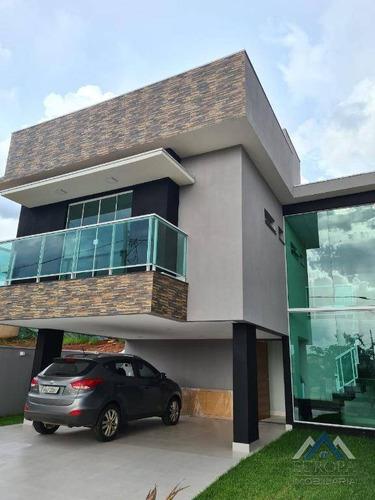 Sobrado Com 3 Dormitórios À Venda, 170 M² Por R$ 780.000,00 - Jardim Morumbi - Londrina/pr - So0150