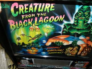 Flipper Pinball Creature From The Black Lagoon
