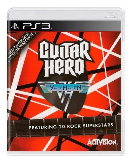 Guitar Hero Van Halen Ps3 Mídia Física Pronta Entrega