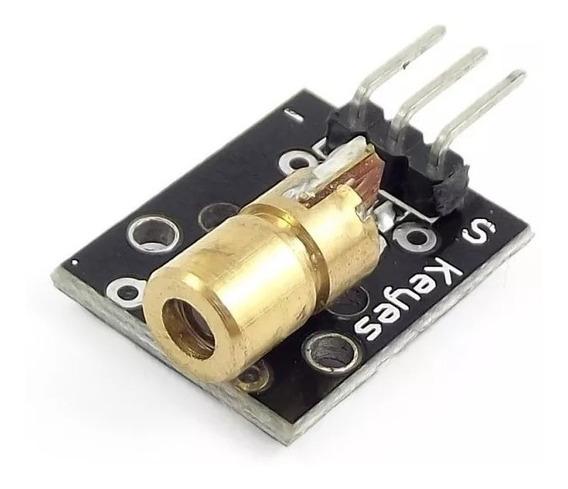 Modulo Laser Head Ky-008 Diodo 5mw Lente Arduino