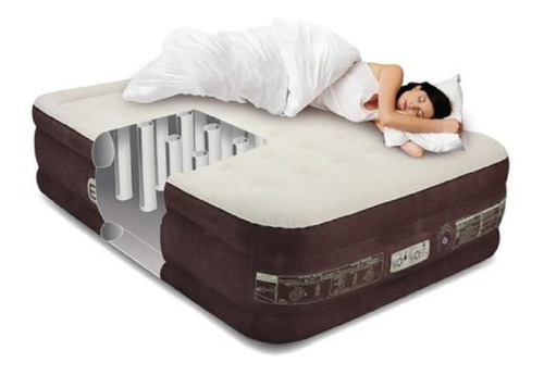 Colchón Cama Inflable Ez Inflate Airbed Queen