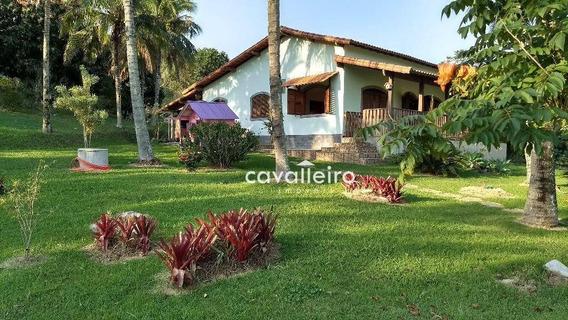 Chácara Residencial À Venda, Ubatiba, Maricá. - Ch0051