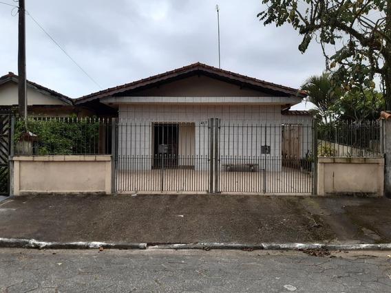 Casa Com 4 Dormitórios À Venda Por R$ 260.000 - Jardim Real - Praia Grande/sp - Ca0023