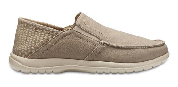 Zapato Crocs Caballero Santa Cruz Convertible Khaki