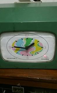 Reloj Tarjetero Viejo