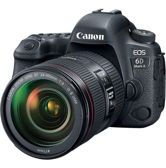 Câmera Canon (gb) Eos 6d Mark Ii 24-105mm F/4l Is Ii Usm