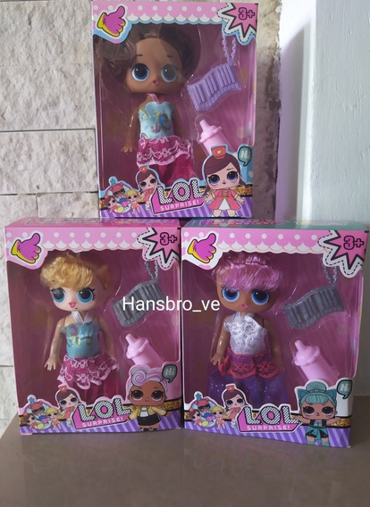 Muñecas Lol Con Accesorios Juguetes Lol Para Niña 10 Cm