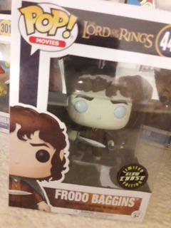 Cursed Frodo Funko Pop Glow Chase Limited Edition