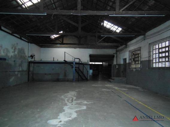 Galpão Para Alugar, 440 M² Por R$ 6.600/mês - Centro - São Bernardo Do Campo/sp - Ga0343