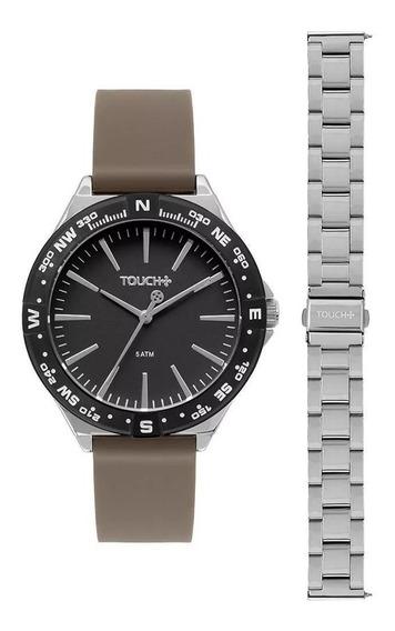Relógio Touch Analógico Masculino 2 Pulseiras Tw2035ldr/t5p