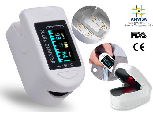 Oximetro Digital De Dedo Medidor De Saturação De Oxigênio