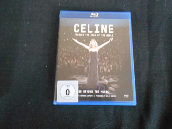 Celine Dion - Through The Eyes Of The World - Blu Ray