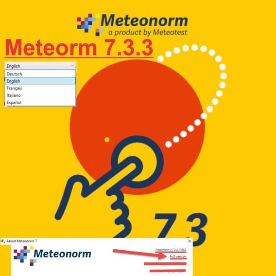 Meteonorm 7.3.3