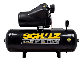 Compressor De Ar Audaz Mcsv 20/150 Schulz -220/380v