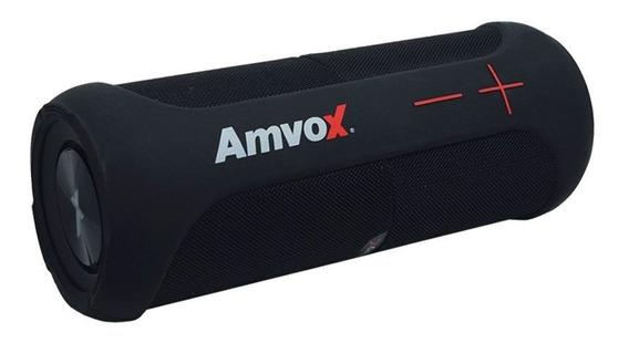 Caixa Som Amplificada Portátil Preta Prova Dágua Bluetooth