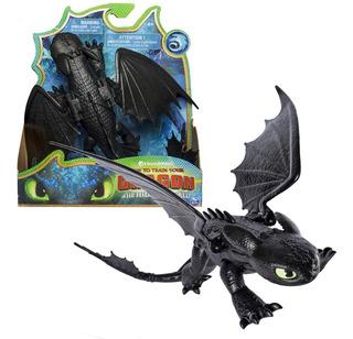 Muñeco Articulado Chimuelo Como Entrenar A Tu Dragón Origina