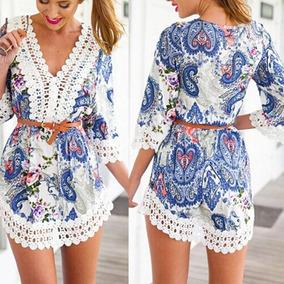 Vestido Muito Lindo De Verão Novo - Frete Grátis