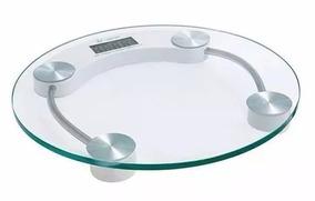 Balança Digital Em Vidro Temperado Para Banheiro 180kg Novo