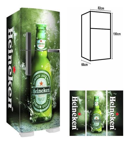 Adesivo Envelopamento Fosco Geladeira Cervejas Famosas F190
