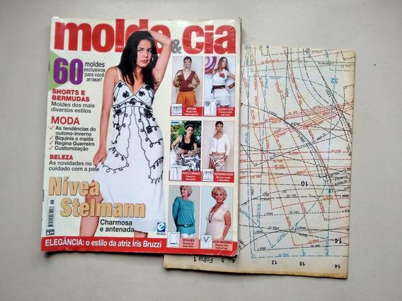 Revista Molde E Cia 15 Nívea Stelmann Moda Beleza C687