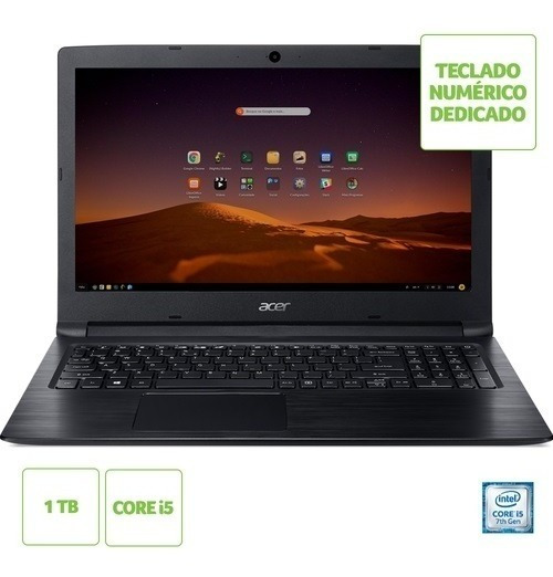 Notebook Intel Core I5 4gb 1tb 15,6