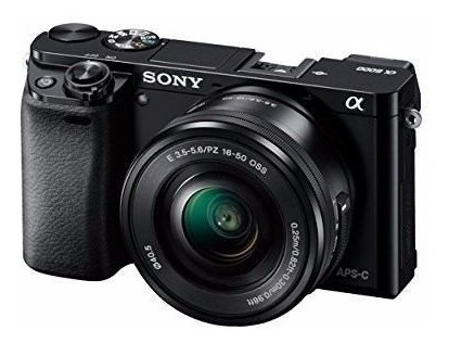 Sony Alpha A6000 Mirrorless Digital Camera With 16-50mm