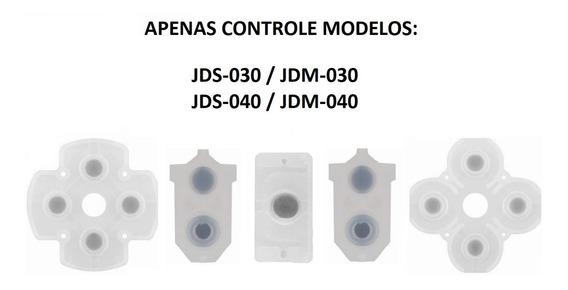 Borracha Condutiva Controle Ps4 Jds Jdm 030 040