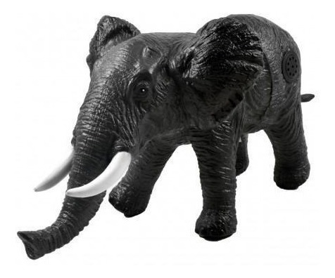 Elefante Selvagem Grande C/ Som Macio Vinil Soft