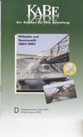 Novo Catálogo De Filatelia - Material Alemão Kabe