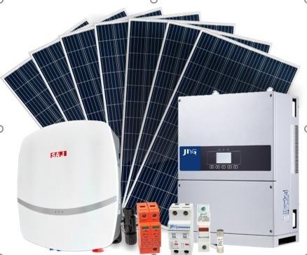 Imagem 1 de 1 de Kit Sistema De Energia Fotovoltaico/solar Kwp