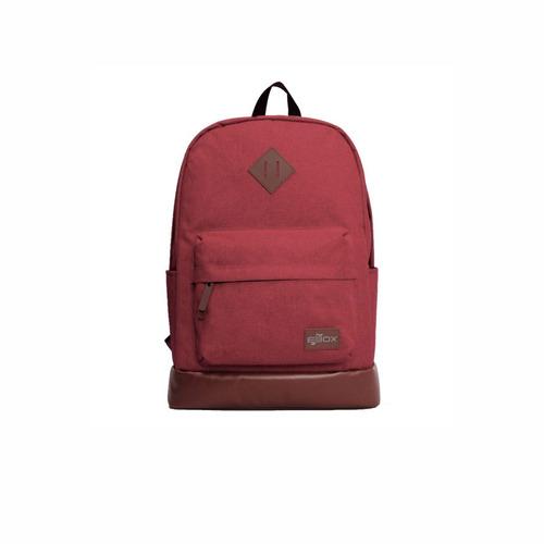 Mochila Para Notebook Ebox Enl88815b-d 15.6  Rojo  Zonatecno