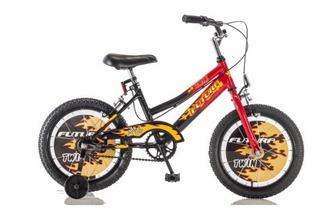 Bicicleta Futura Infantil Rodado 16 Twin Varón Bmx (4050)