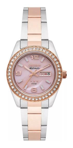 Relógio Orient Automático Feminino Aço Misto 559tr008 R2sr